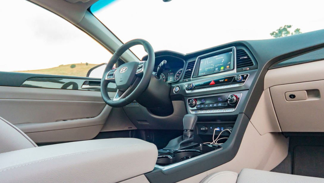 2021 Hyundai Sonata Interior Changes