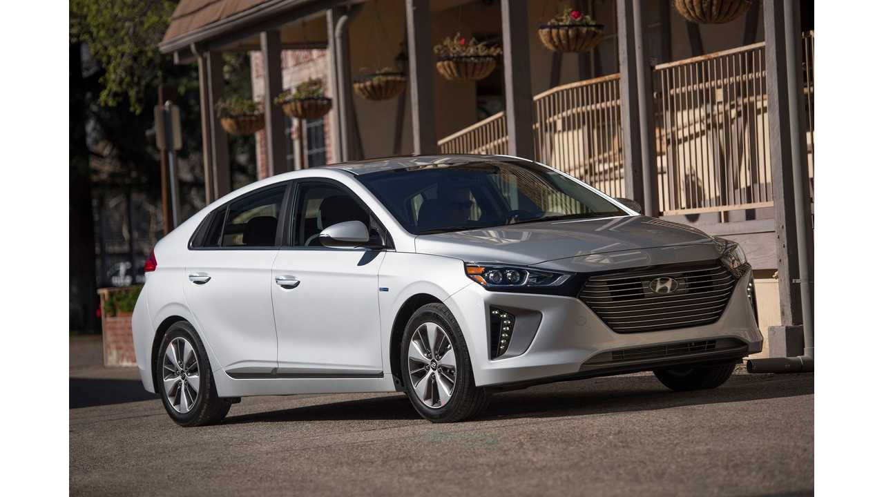 2019 Hyundai Ioniq Electric, Plug-In To Be Slightly Better