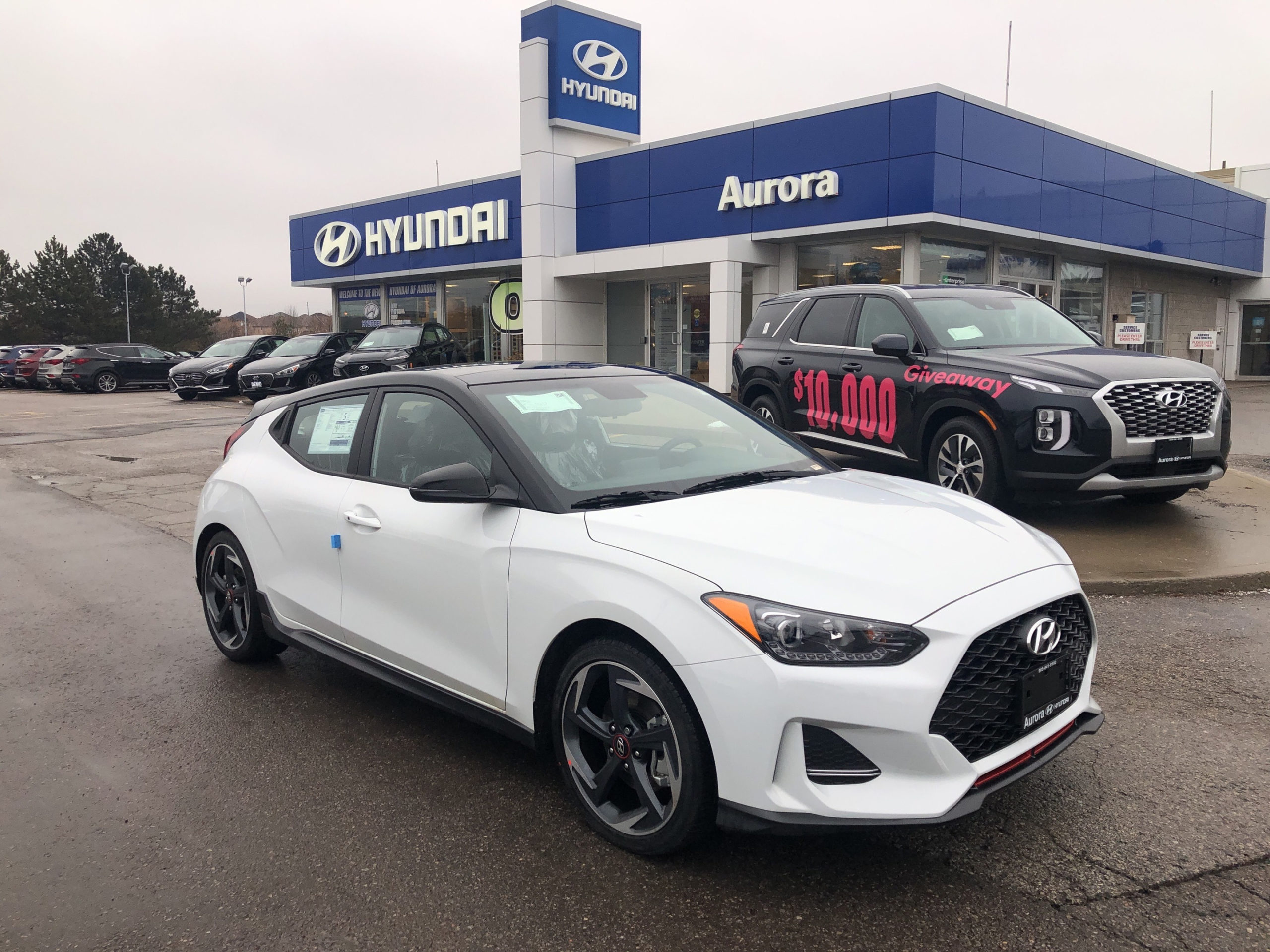2020 Hyundai Veloster Turbo Fwd Manual - Aurora