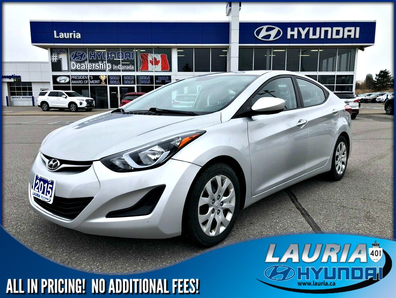 Certified Pre-Owned 2015 Hyundai Elantra Gl Manual - Bluetooth / Heated  Seats